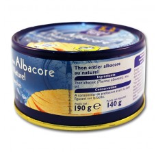 Grand Jury Thon Albacore au Naturel 190g