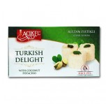 Acikel Turkish Delight Loukoums Goût Pistache 400g