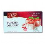 Acikel Turkish Delight Loukoum Saveur Rose 400g