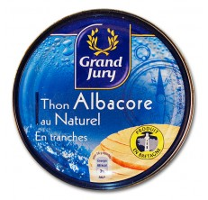 Grand Jury Thon Albacore au Naturel en Tranches 400g